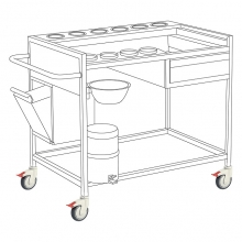 Medical trolley (S.S)